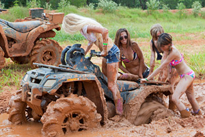 Playing in Mud 2